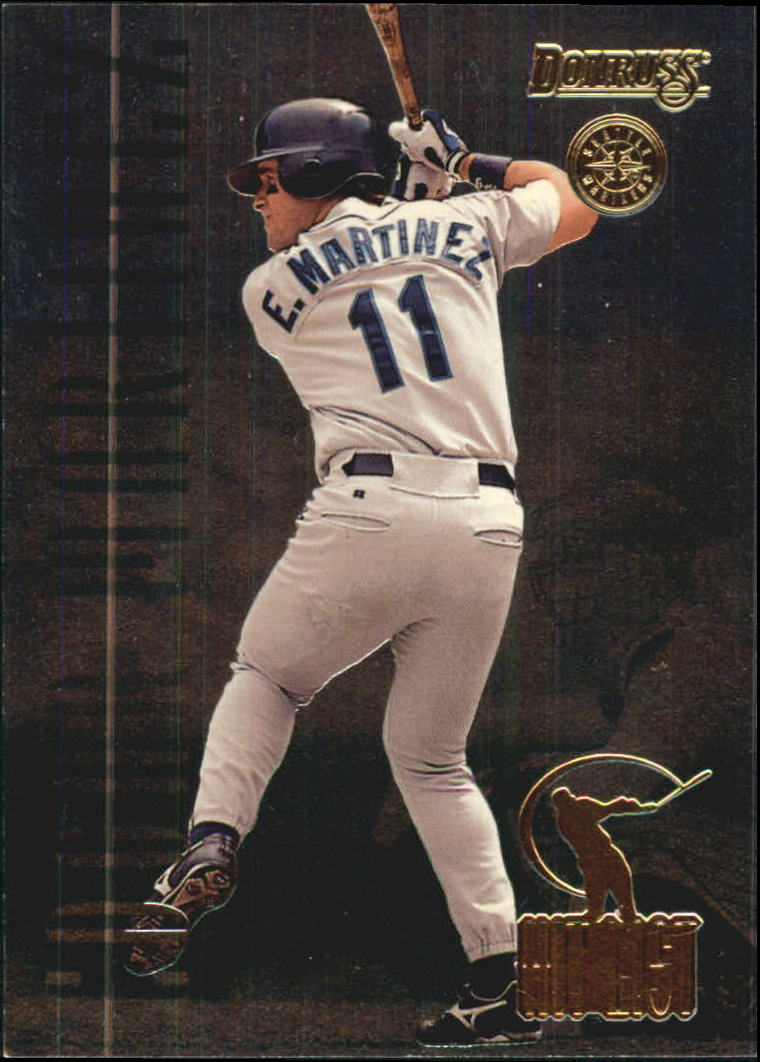 1996 Donruss Hit List #12 Edgar Martinez
