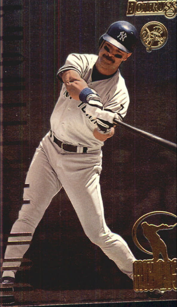 1996 Donruss Hit List #15 Don Mattingly