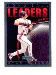 1996 Donruss Long Ball Leaders #2 Ryan Klesko