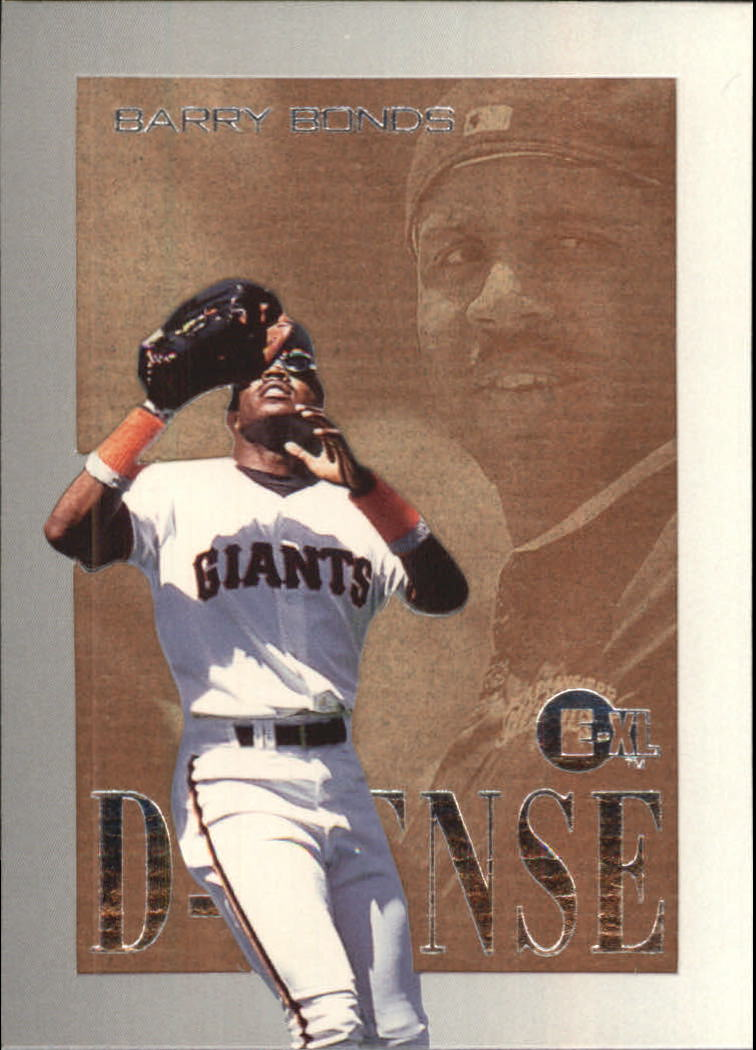 1996 Emotion-XL D-Fense #2 Barry Bonds