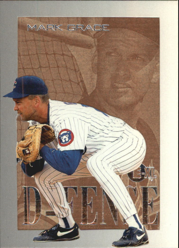 1996 Emotion-XL D-Fense #3 Mark Grace