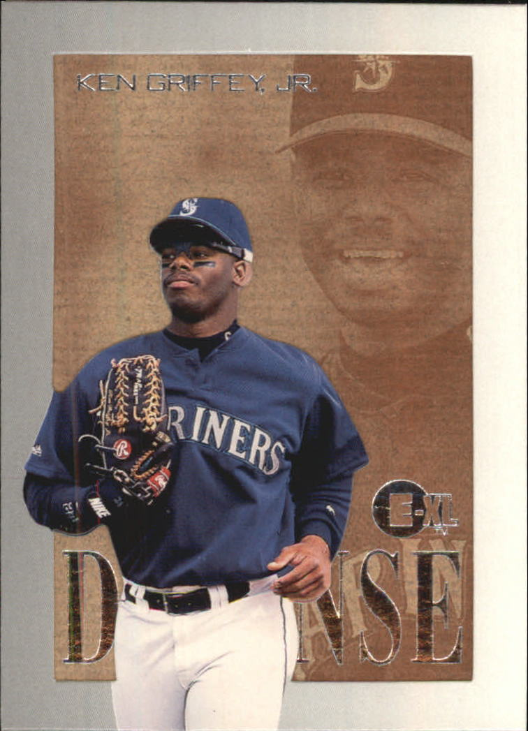 1996 Emotion-XL D-Fense #4 Ken Griffey Jr.