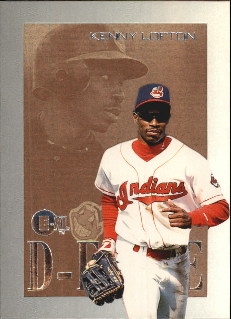 1996 Emotion-XL D-Fense #5 Kenny Lofton