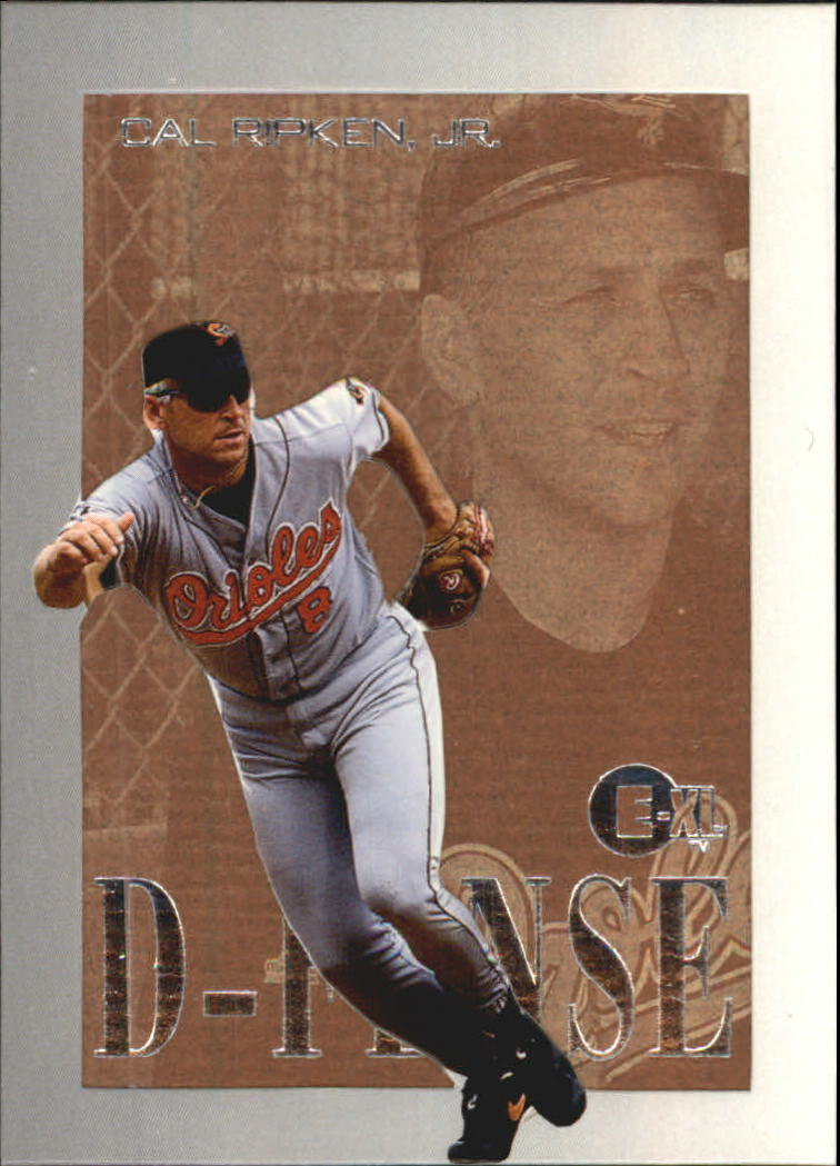 1996 Emotion-XL D-Fense #8 Cal Ripken