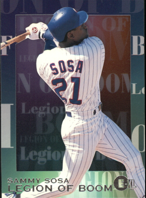 1996 Emotion-XL Legion of Boom #9 Sammy Sosa