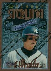 1996 Finest #B16 Chipper Jones B