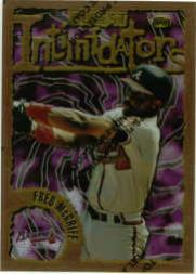 1996 Finest #B40 Fred McGriff B