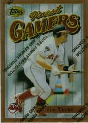 1996 Finest #B47 Jim Thome B