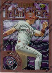 1996 Finest #B166 Mickey Tettleton B
