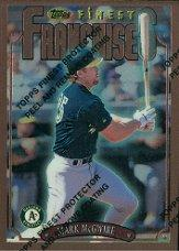 1996 Finest #B236 Mark McGwire B