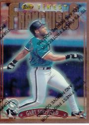 1996 Finest #B309 Gary Sheffield B