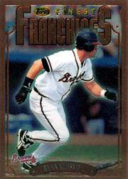 1996 Finest #B333 Ryan Klesko B