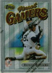 1996 Finest #S2 Bernie Williams S