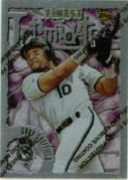 1996 Finest #S60 Gary Sheffield S