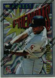 1996 Finest #S73 Garret Anderson S