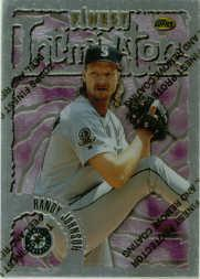 1996 Finest #S77 Randy Johnson S