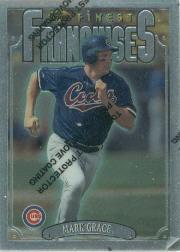 1996 Finest #S341 Mark Grace S