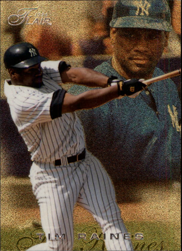 1996 Flair #135 Tim Raines