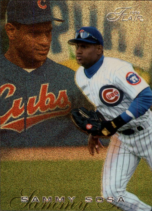1996 Flair #225 Sammy Sosa