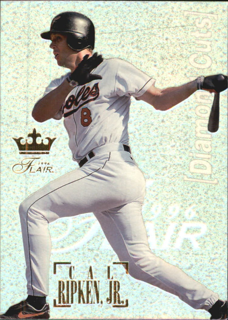 1996 Flair Diamond Cuts #9 Cal Ripken