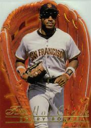 1996 Flair Hot Gloves #2 Barry Bonds