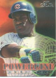 1996 Flair Powerline #8 Sammy Sosa