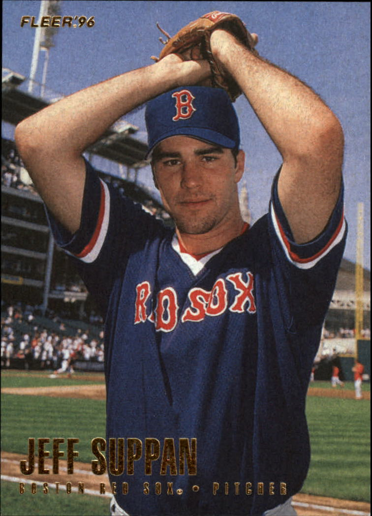 1996 Fleer #35 Jeff Suppan front image
