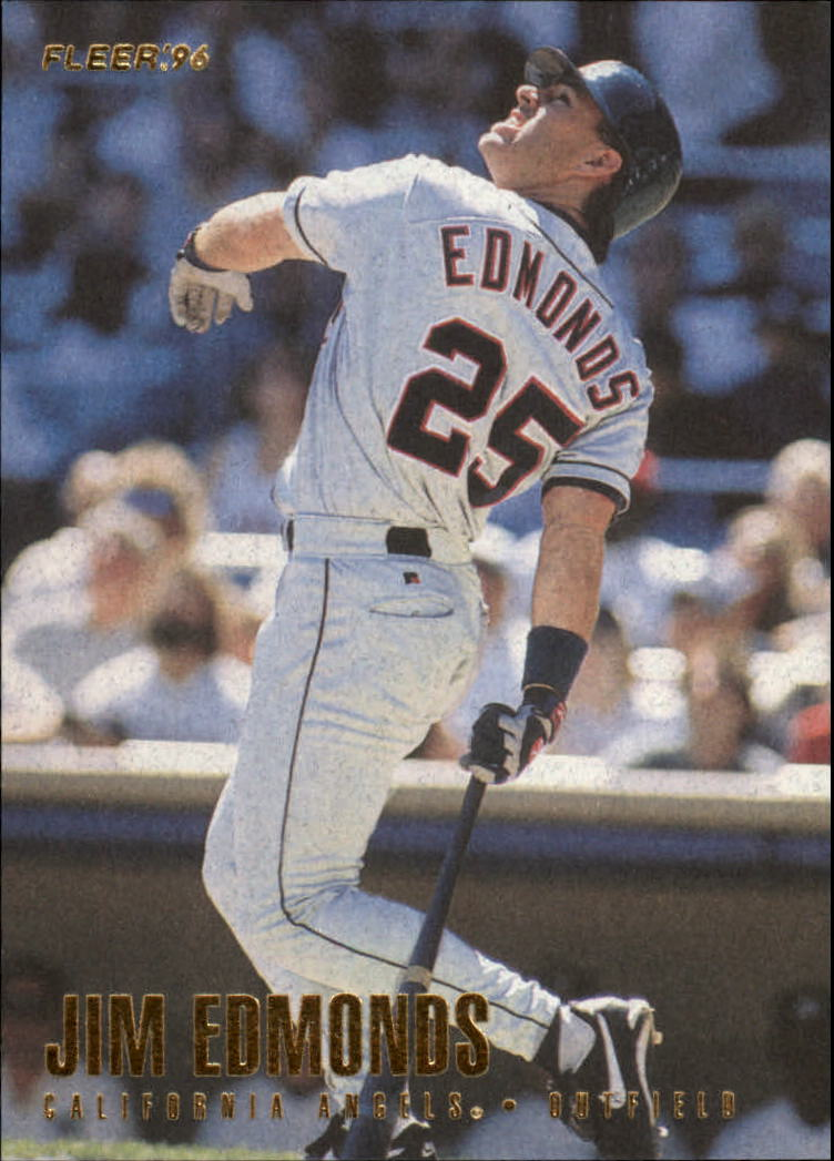 1996 Fleer #46 Jim Edmonds