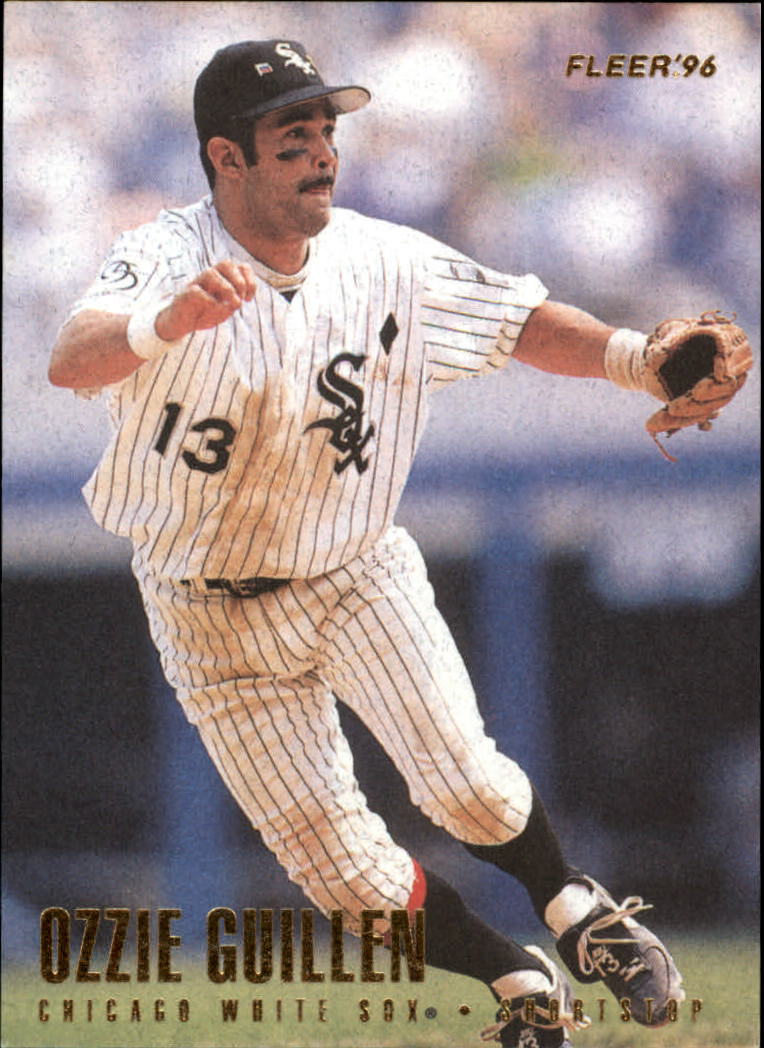 1996 Fleer #66 Ozzie Guillen