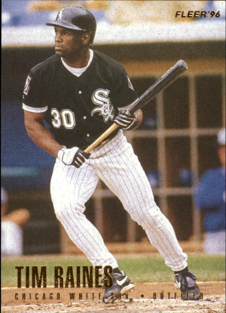 1996 Fleer #75 Tim Raines