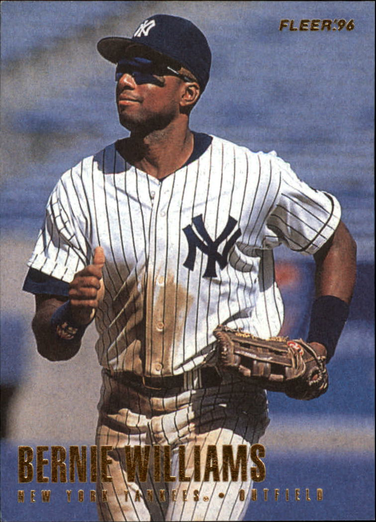 1996 Fleer #201 Bernie Williams