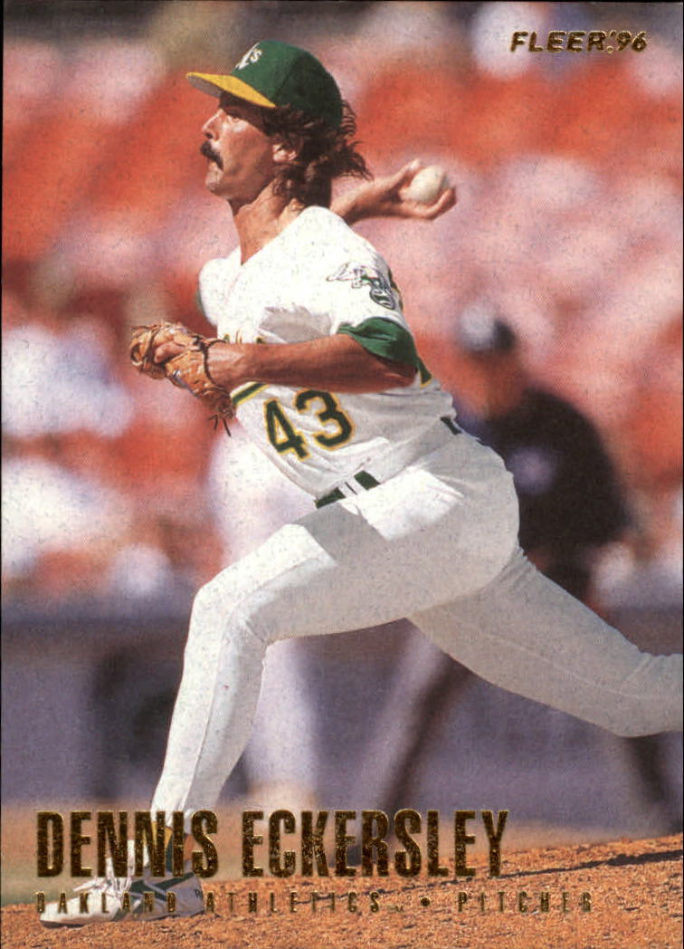 1996 Fleer #206 Dennis Eckersley