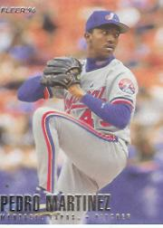 1996 Fleer #462 Pedro Martinez