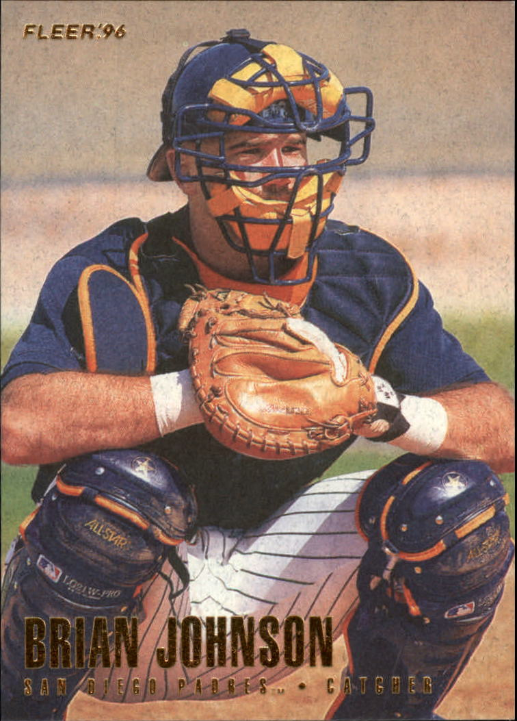 1996 Fleer #571 Brian Johnson