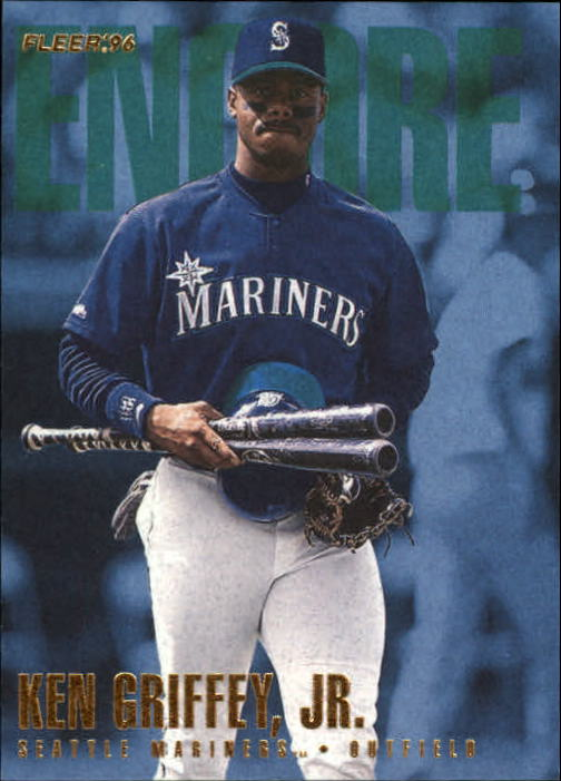 1996 Fleer Update #U223 Ken Griffey Jr. ENC