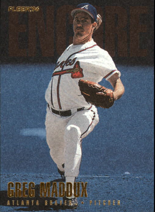 1996 Fleer Update #U232 Greg Maddux ENC