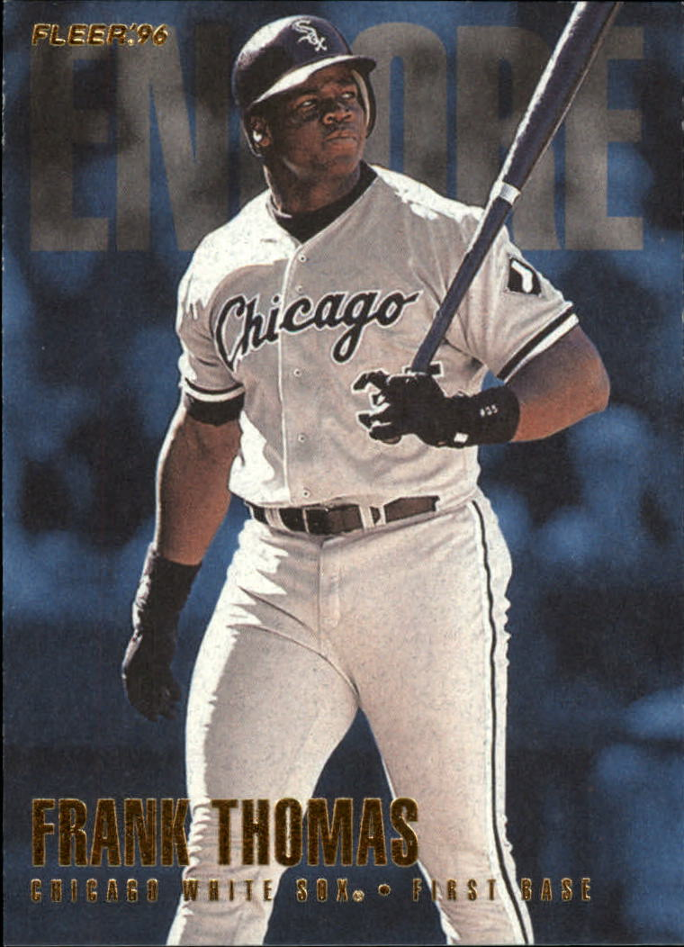 1996 Fleer Update #U243 Frank Thomas ENC
