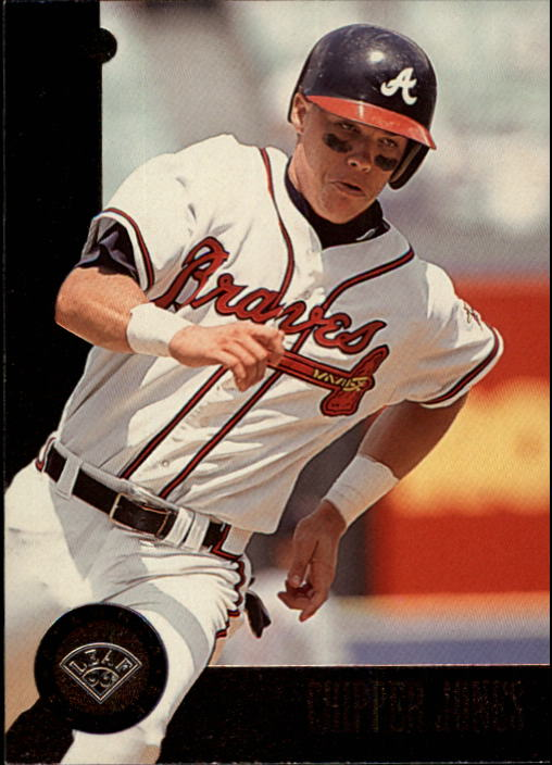1996 Leaf #28 Chipper Jones