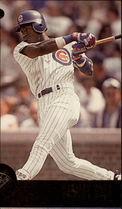 1996 Leaf #112 Sammy Sosa