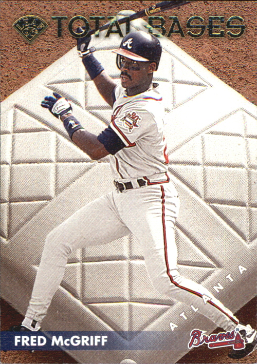 1996 Leaf Total Bases #8 Fred McGriff