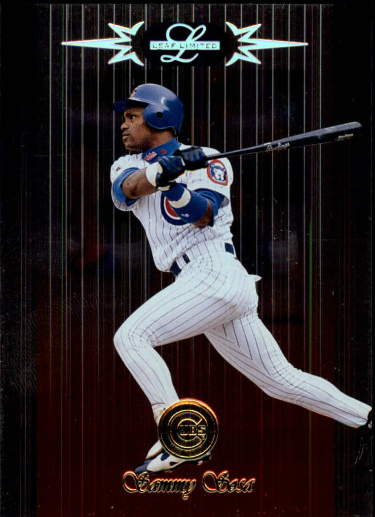 1996 Leaf Limited #5 Sammy Sosa