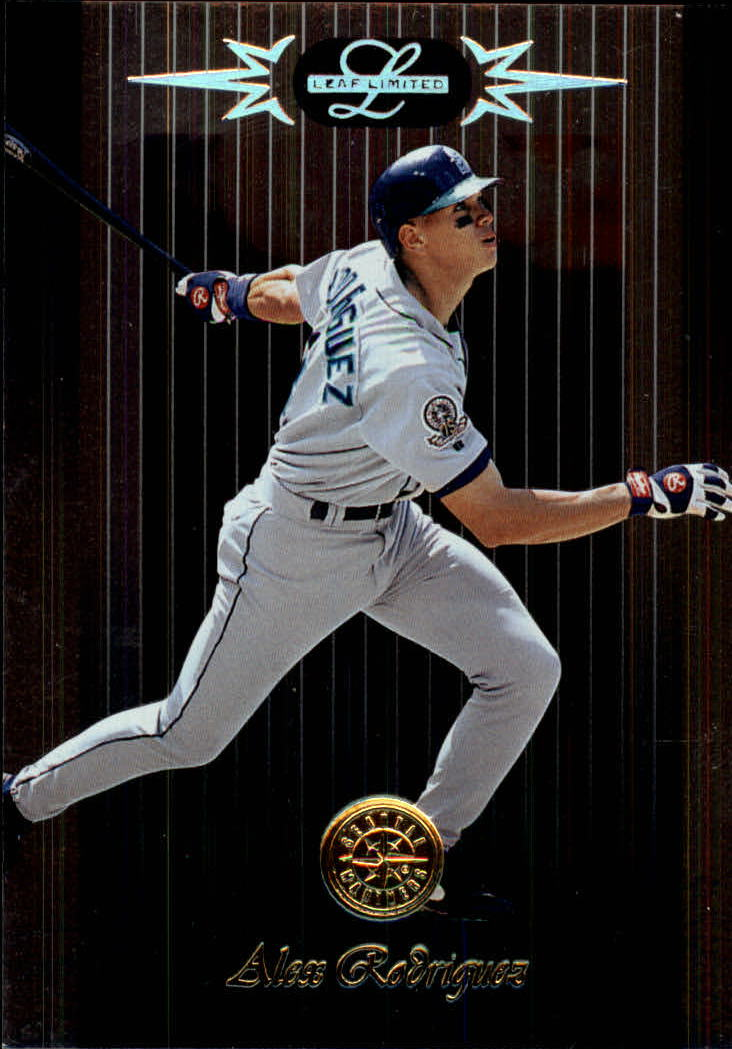 1996 Leaf Limited #31 Alex Rodriguez