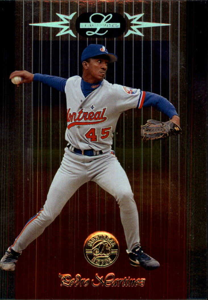 1996 Leaf Limited #59 Pedro Martinez