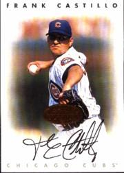 1996 Leaf Signature Autographs #40 Frank Castillo
