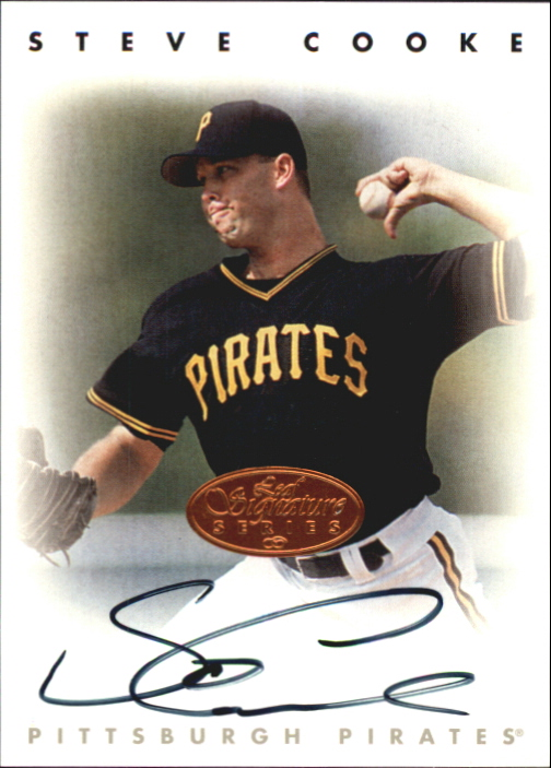 1996 Leaf Signature Autographs #48 Steve Cooke
