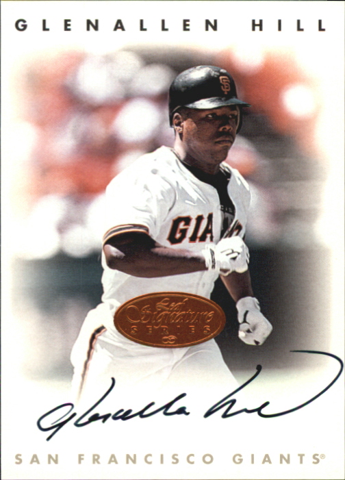 1996 Leaf Signature Autographs #102 Glenallen Hill