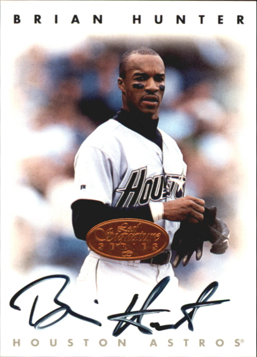 1996 Leaf Signature Autographs #112 Brian L.Hunter