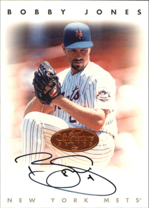 1996 Leaf Signature Autographs #119 Bobby Jones