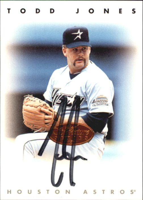 1996 Leaf Signature Autographs #120 Todd Jones