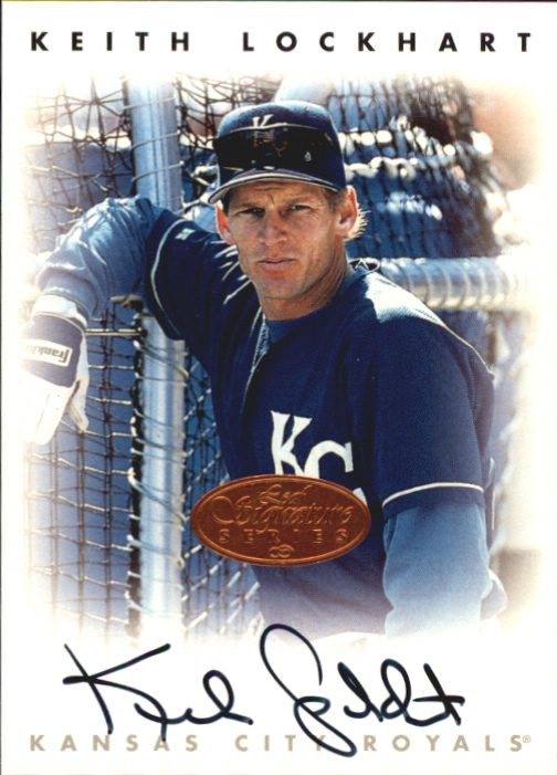 1996 Leaf Signature Autographs #138 Keith Lockhart